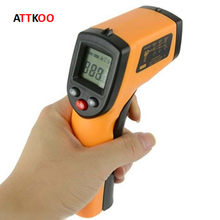 Infrared Thermometer Digital LCD Non-contact Forehead Surface food thermometer -50 to 330(China)