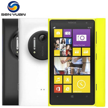 "Nokia Lumia 1020 original mobile phone unlocked 4.5"" Touch screen 41.0MP Camra 32GB ROM 2G Dual core WIFI"