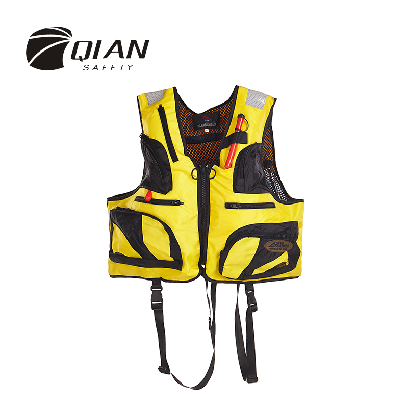 QIAN SAFETY Adult Inflatable Accessorial Life Jacket SOLAS Approved Removable Fishing Boating Accessorial Life Vest With Whistle<br><br>Aliexpress