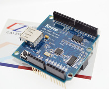 USB Host Shield compatible with arduino Android ADK support UNO MEGA USB Host Shield For MEGA IN STOCK(China)