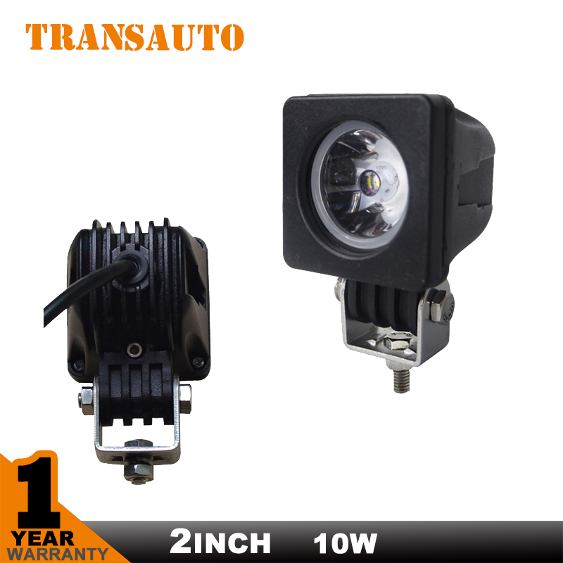2 INCH SUPER BRIGHT 10W CHIP LED WORK LIGHT FLOOD OR  SPOT BEAM LED DRIVING WORKING FOG LAMP FOR OFF ROAD USE<br><br>Aliexpress