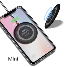 MIXZA M Qi Wireless Charger For iPhone X Samsung Note 8 S8 Plus S7 S6 Edge Phone Fast Wireless Charging Docking Dock Station(China)