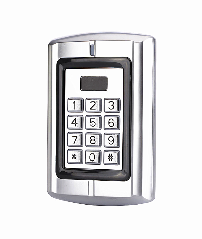 Waterproof Background Light Metal Case Keypad ID EM Access Control System RFID Proximity Card Reader<br>