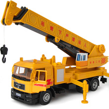 Large cranes crane model alloy engineering car toy car truck model 2199(China)