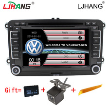 2DIN car dvd audio car auto radio can bus bluetooth for VW B6 Passat Jetta TOURAN Sagitar VW GOLF Car dvd autoaudio Radio GPS FM