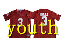 Nike 2017 Youth Alabama Crimson Tide Calvin Ridley 3 College Boxing Jersey - Crimson Size S,M,L,XL T.J Yeldon 4(China)
