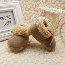 Baby Shoes Child Boot Newborn Thick Fur Booties Girls Boys Super Warm Winter Baby Boots Infant Kids Warm First Walker