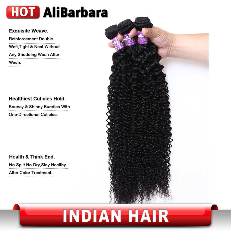 8A Indian Virgin Curly Hair 3Pcs lot 12-28inch Indian Virgin Deep Curly hair #1b Virgin Indian Kinky Curly Human Hair weave<br><br>Aliexpress