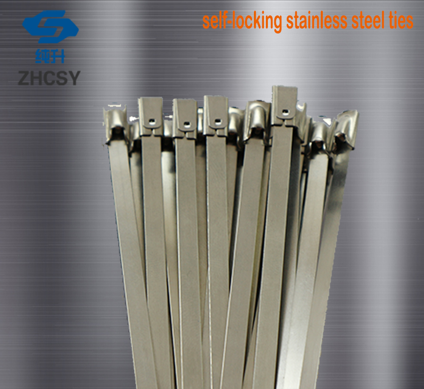 50 x STAINLESS STEEL CABLE TIES WIDE Size 7.9mm x 360mm Exhaust Heat Wrap
