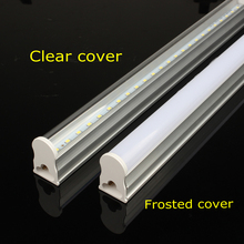 PVC Plastic LED Tube T5 Light 220V 240V 30cm 5W 60cm 1ft 2ft 10W LED Fluorescent Tube T5 Wall Lamps Cold White T5 Bulb Light 5W