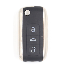 Bentley Style Folding Remote Key Fob 3 Button for BMW 315/433MHZ ID44 CHIP HU92(China)