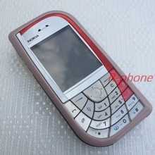 Original Unlocked Refurbished Nokia 7610 Pink Mobile Phone GSM Tri-Band Camera Bluetooth Cellphone(China)