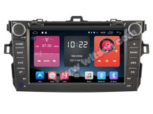 "8"" Android 6.0 OS Special Car DVD for Toyota Corolla 2007-2012 with Calling Function Support & Full Video Output Function"