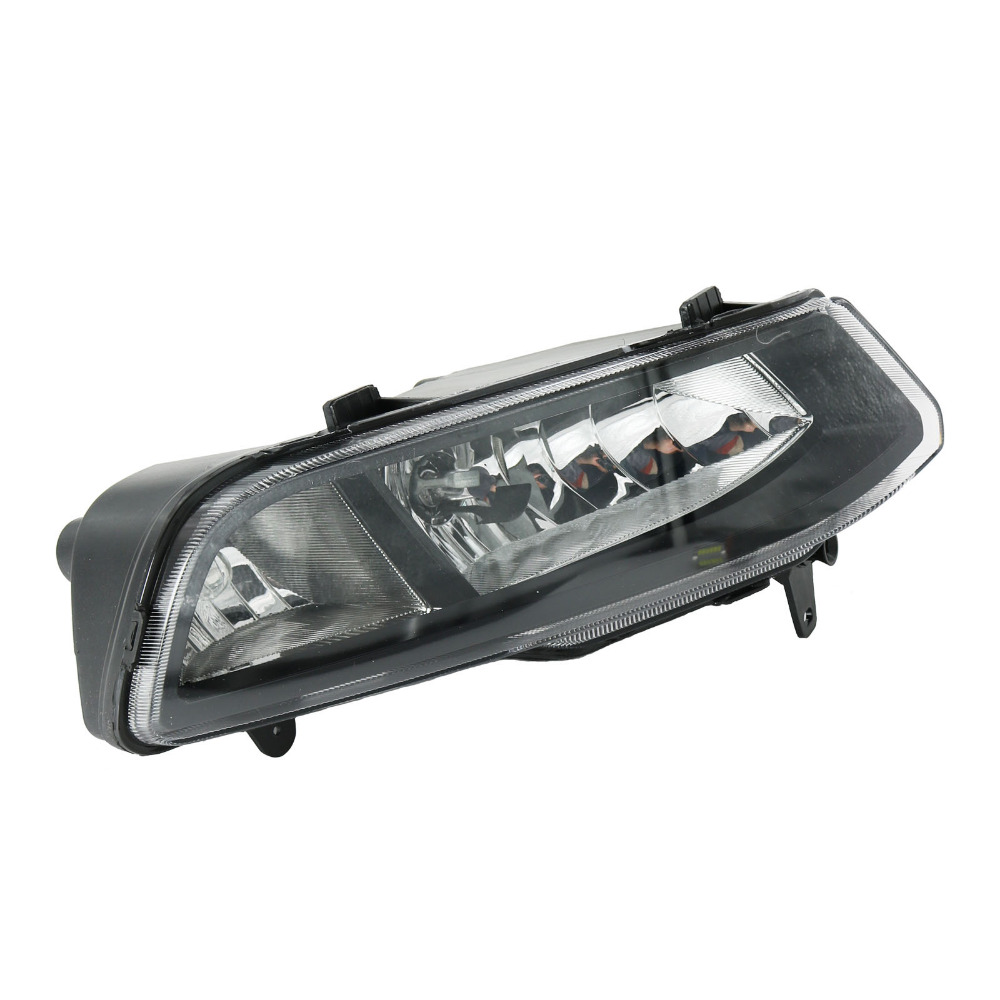 Right Side For VW Polo Vento Derby 2014 2015 2016 2017 Front Halogen Fog Light Fog Lamp Assembly Two Holes<br>