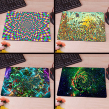 MaiYaCa Trippy Computer Mouse Pad Mousepads Decorate Your Desk Non-Skid Rubber Pad No Overlock Edge