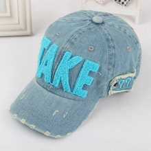 Hot Sale New Spring Summer Baby 3D Letter TAKE Cap Boy Adjustable Baseball Cap 2-6 Years Kids Snapback Hip-Hop Hats Sun Hat(China)