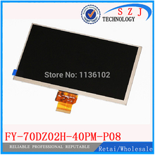 "Original 7"" inch FY-70DZ02H-40PM-P08 LCD Display Screen For Ampe G750 G705 Ampe A71 Tablet pc Replacements Free Shipping(China)"