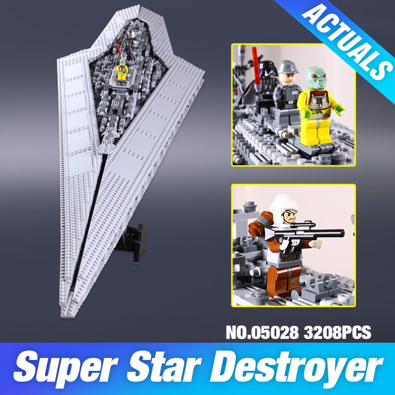 New LEPIN 05028 Star Wars Execytor Super Star Dest...