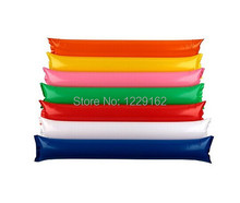 Free Shipping (10pairs/lot) Inflatable cheering stick air bang stick thunder stick for parties and sports games(China)
