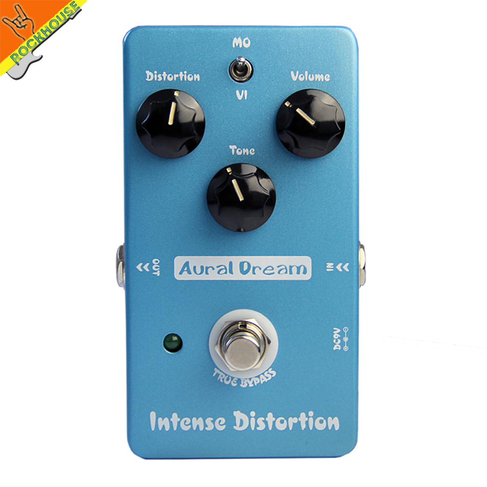 2017 New electric Guitar Distortion effect pedal guitarra 2 models tube distortion modern high gain distortion free shipping <br><br>Aliexpress