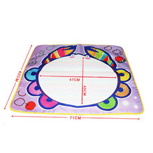 Crab Cartoon Doodle Graffiti Writing Water magnetic board Mat Series With 1 Pen Drawing kids craft Gift toys for children #XTT(China)