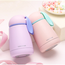 Women Candy Color Thermos Stainless Steel Vacuum Flasks Thermoses Travel Mug School thermocup My Water Bottle Sport Kids(China)