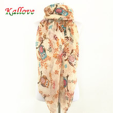 10pcs/lot New women's animal birds owl scarves fashion viscose headband muslim popular wrap winter tree print scarf shawls