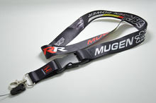 Wholesale MUGEN Lanyard Neck Cell Phone Key Chain Strap Quick Release JDM NOS TURBO keychain(China)