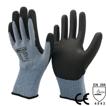 NMSafety High Soft Metal Stamping Glass Handling Safety Glove Anti Cut Work Glove