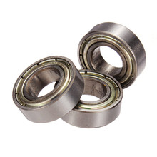 1x Stainless Steel Radial Ball Bearing 8mm for 3D Printer Accessory Mechanical Parts Tool Shafts(China)