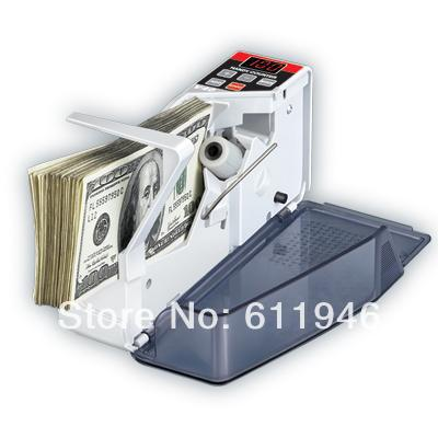 2014 new V40 Mini Portable Handy Bill Cash Money registers Currency Counter Counting Machine<br>