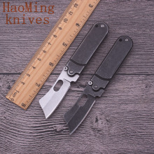 Mini-outdoor camping survival folding knife hunting practical tactical combat tools key chain pocket portable rescue knives EDC