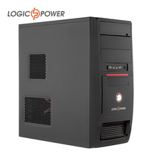 LOGIC POWER ATX desktop computer case New Arrivals Fast heat dissipat 80mm FAN,CD-ROMx2, HDDx1,PCIx7,USBx2, AUDIO In/Out #3924