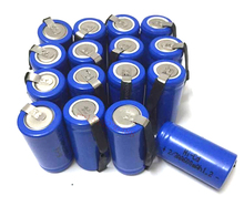 16pcs/lot AA Ni-Cd 1.2V 2/3AA 600mAH rechargeable battery NiCd charging Batteries - Blue Free Shipping