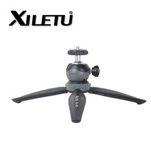 XILETU Lightweight Mini Tripod With Detachable Ball head 360 Degree Rotation for DSLR For GoPro Digital Cameras Camcorders