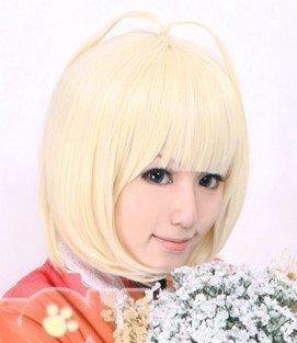 Ao no Exorcist.Shiemi Moriyama.Short beige womens Classic Cosplay Anime Wig Free shipping<br><br>Aliexpress