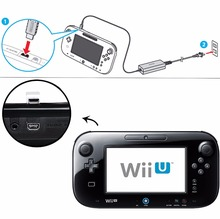 Buy Nintendo Wii U WiiU controller Wall Adapter Power Charger game gamepad joystick charger accessories 100V-240V AC US/EU Plug for $5.91 in AliExpress store