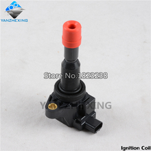 Ignition Coil For Honda FIT 2005 2006 2007 2008 FIT SALOON 2005-2006 CITY 2007-2008 OEM:30520-PWC-003 For 1.5L Cars