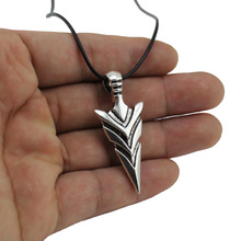 "[No Minimum]New Women Men's Jewelry Vintage Silver Tone Arrow Pendant 17"" Short Necklace DY247 Free Shipping"