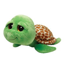 Zippy turtle 15cm green tortoise ty Plush Toy Stuffed Animal Doll Kids Toy Big Eye Doll Graduation Birthday Gift Hot Sale