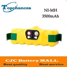 New 3500mah NI-MH Vacuum Battery for iRobot Roomba 500 560 530 510 562 550 570 581 610 650 790 780 532 760 770 battery Robotics(China)