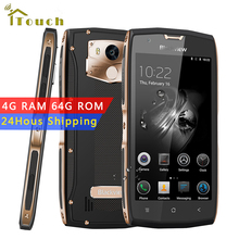 "Blackview BV7000 Pro 4G LTE Smartphone 5.0"" FHD Android 6.0 Waterproof cell phone MTK6750T Octa Core 4G RAM 64G ROM Fingerprint"