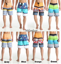 2018 Summer Quick-drying Shorts Beach Surf Trunks Board Shorts Surfing Swim Wear For Men Boardshorts Pant Swimwear Short(China)