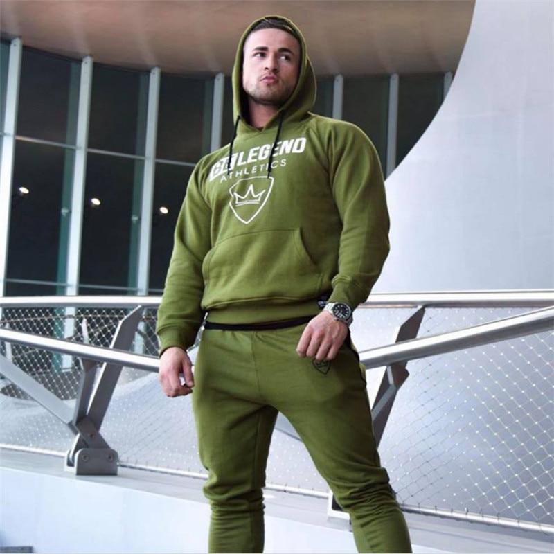 hoodies Sweatshirt Men sport suit- - (2)