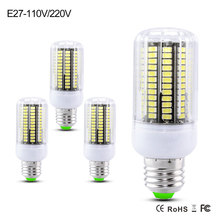 SMD 5733 Led Lamp More Bright Than SMD 5730 2835 E27 3W 4W 5W 7W 8W 10W 15W 220V 110V Led Corn Bulb 30-165Leds Christmas Lights