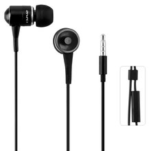 Awei ESQ3i Super Bass In-Ear Noise Isolating Hi-Definition Earphone With 1.2m Cable Mic Next Song For Smartphone Tablet PC(China)