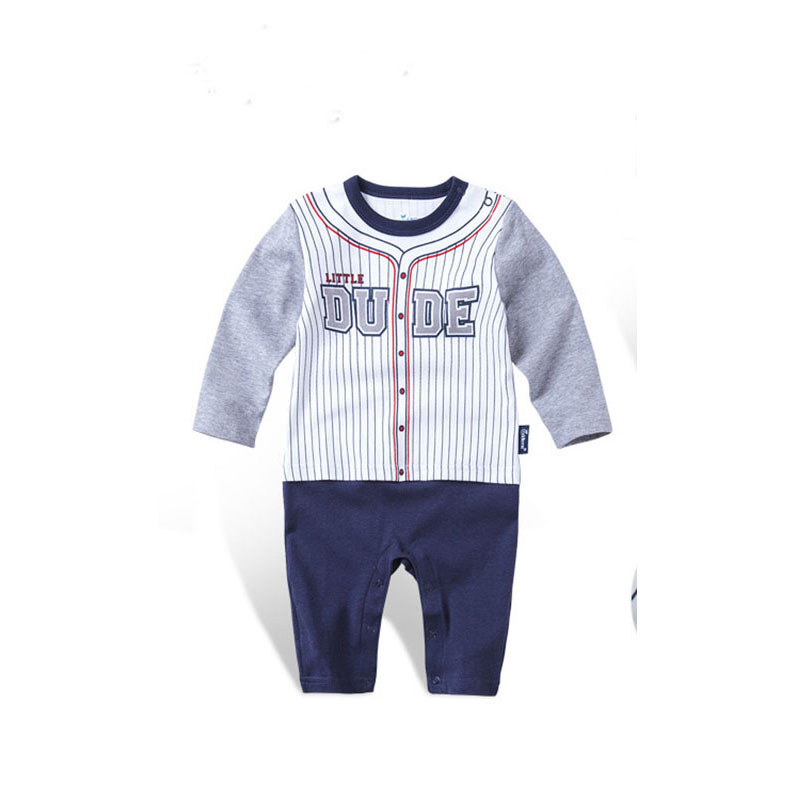 Spring Newborn Baby Boy Long Sleeve Casual Sport one pieces Rompers Clothes Infant Baby Cotton Jumpsuits Sets Roupa Bebe costume<br><br>Aliexpress