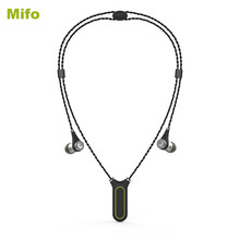 New Mifo i2 Wireless Bluetooth Headset In-ear Earphone Recording MP3 Player Headset 8GB IPX7 Waterproof Necklace Earpiece Sport