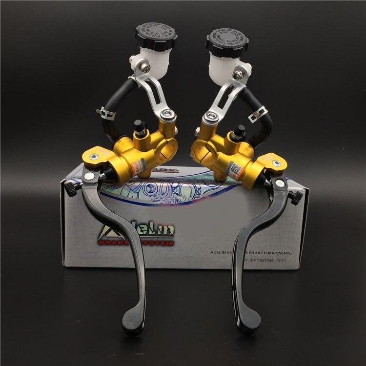 motorcycle brake master cylinder Hydraulic disk brake Direct drive pum Adelin for HONDA YAMAHA KAWASAKI SUZUKI<br><br>Aliexpress