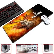 MaiYaCa Tank World Customized Mouse Pad Oversized Mouse Pad Table Pad Keyboard Pad Natural Rubber Thicker(China)